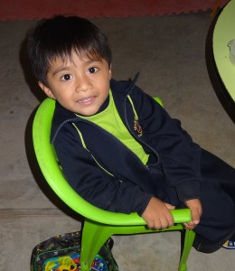 Preschool Boy Peru